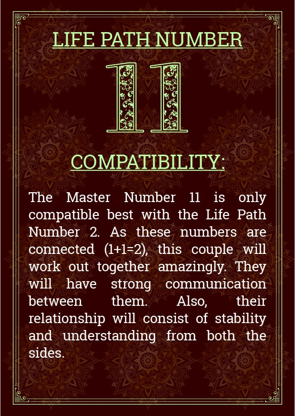 Life Path Number 11 Compatibility