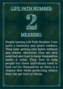 Life Path Number 2 Meaning