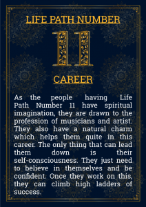 Life Path Number 11 Career